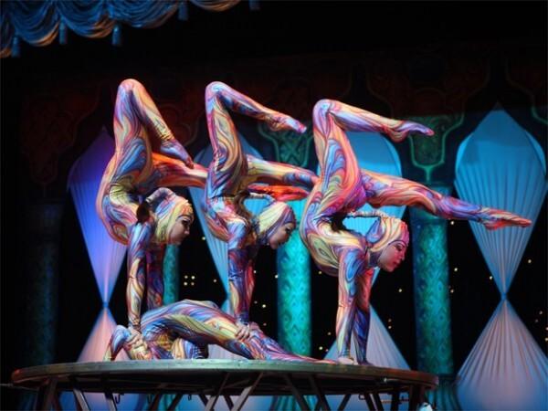 artistas do Circo Tihany