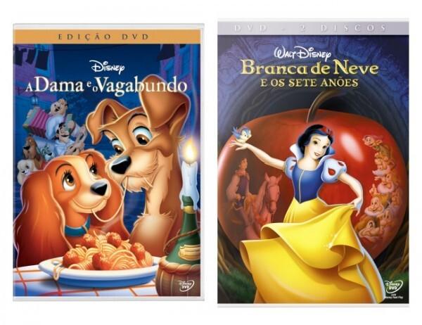 DVDs - Clássicos Disney