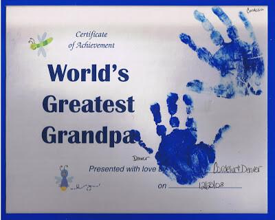 certificado melhor avô